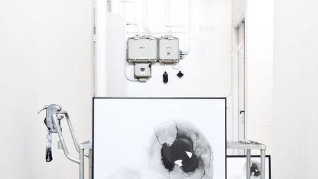 Ylva Skarp Plakát What 40x50, černá barva, papír