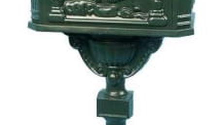 Tuin 1387 Ozdobná poštovní schránka - olivově zelená