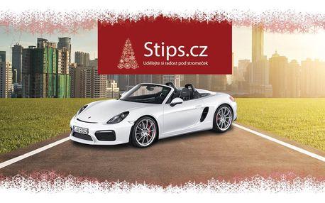 Nejlepší dárek k vánocům: jízda v Porsche!