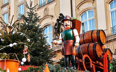 Advent v Sasku - Pirna, pevnost Kőnigstein, vánoční Drážďany