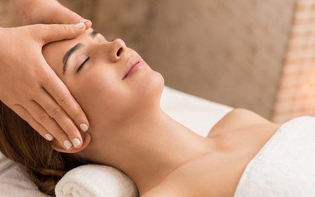 Indická masáž hlavy vč. regenerační masáže zad