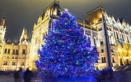 Na otočku za krásami adventní Budapešti z Čech