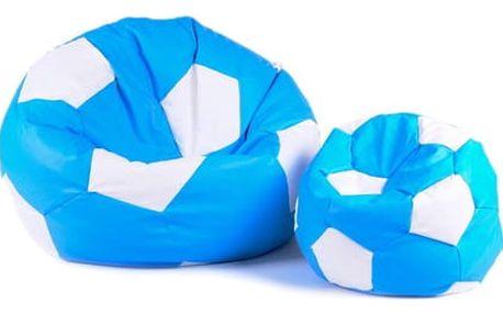 Set sedacích míčů XXXL + XXL světle modrý