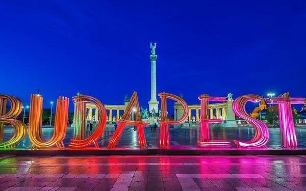 Kouzelná Budapešť, oděná do vánočního roucha, s odjezdy z Moravy2