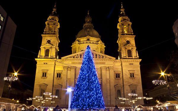 Kouzelná Budapešť, oděná do vánočního roucha, s odjezdy z Moravy3