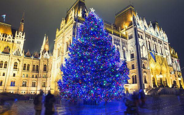 Kouzelná Budapešť, oděná do vánočního roucha, s odjezdy z Moravy5