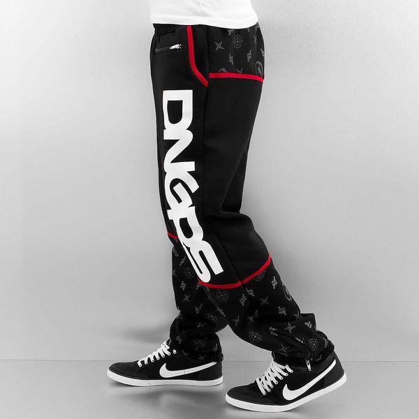 Dangerous DNGRS / Sweat Pant Crosshair Sweat Pants in black S2
