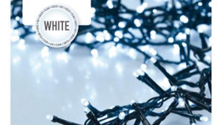 Světelný řetěz Twinkle bílá , 400 LED