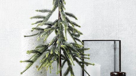 House Doctor Dekorativní stromeček Forrest 45 cm, zelená barva, dřevo, plast