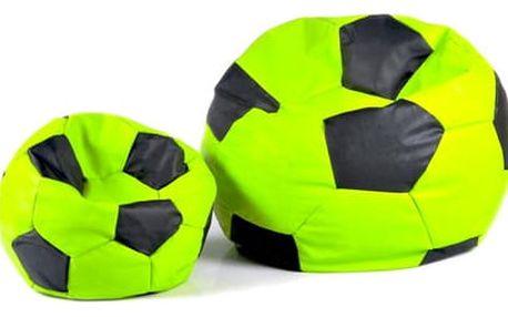 Set sedacích míčů XXXL + XXL zeleno-černý