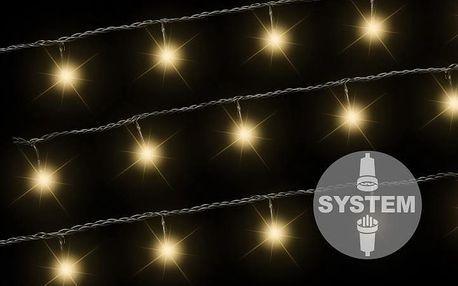 Nexos diLED 2172 světelný řetěz - 40 LED teple bílá