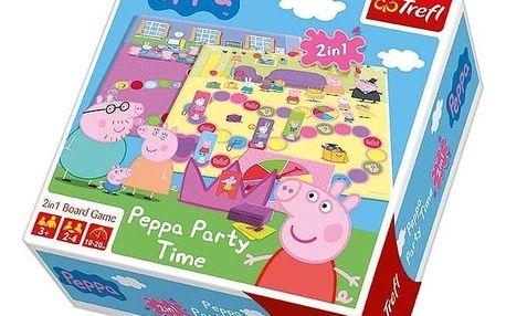 Trefl Desková hra Prasátko Peppa Party Time, 2 v 1