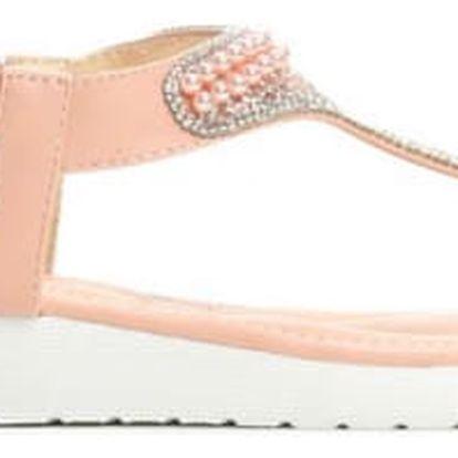 Dámské růžové sandály Pink 4147