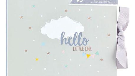 Busy B Deníček vnoučátka Baby B Neutral, šedá barva, papír