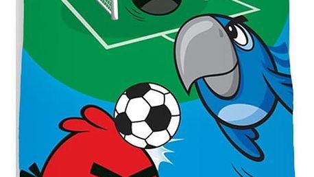 Tip Trade Osuška Angry Birds Fotbal, 70 x 140 cm