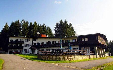 3–8denní wellness pobyt pro 2 osoby s polopenzí a infrasaunou v hotelu Bečva v Beskydech