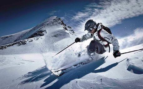 Velikonoce lyžování Rakousko ledovec Kitzsteinhorn Kaprun a term...
