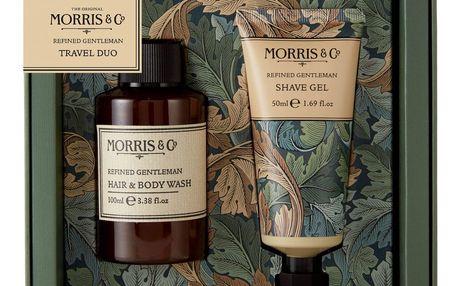 MORRIS & Co. Cestovní duo pánské kosmetiky Morris Gentlemann, zelená barva, plast