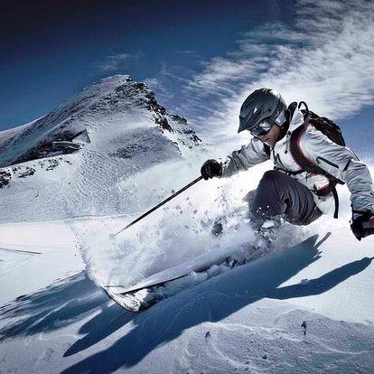 Lyžování Rakousko ledovec Kitzsteinhorn Kaprun 3 dny lyžování vš...