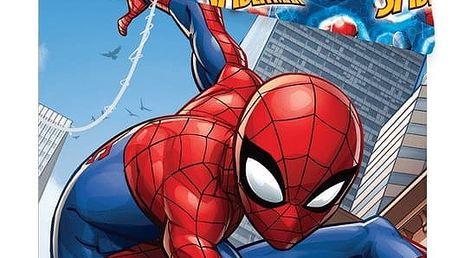 Jerry Fabrics Dětské bavlněné povlečení Spiderman climbs, 140 x 200 cm, 70 x 90 cm