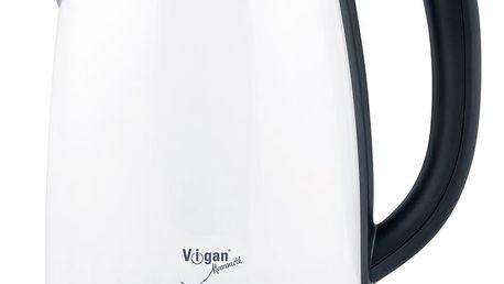 Vigan WK17DGBX Digitální rychlovarná konvice, bílá, 1,7 l