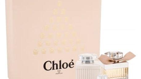 Chloe Chloe dárková kazeta pro ženy parfémovaná voda 50 ml + tělové mléko 100 ml + parfémovaná voda 5 ml
