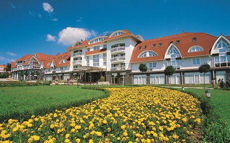 Termální hotel v srdci lázní Zalakaros s bohatou wellness zónou