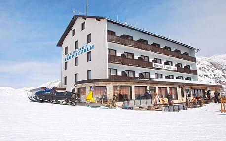 Útulný horský hotel uprostřed lyžařské oblasti
