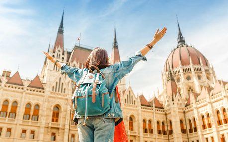 Do Budapešti s batůžkem na 2-4 noci se snídaní