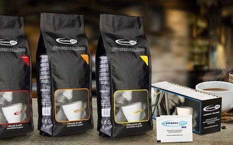 Zrnková káva Estadoscafé i v bezkofeinové verzi