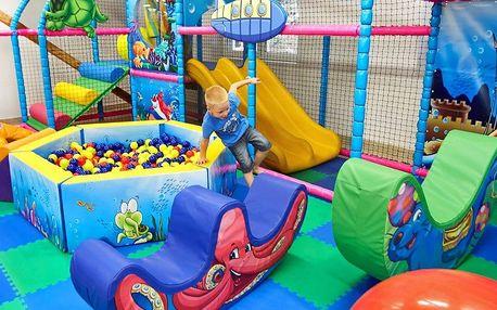 Vstup do dětského centra pro 1 dítě a 2 dospělé