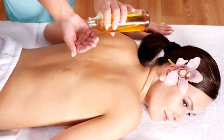 Nechte se hýčkat: Relaxační olejová masáž