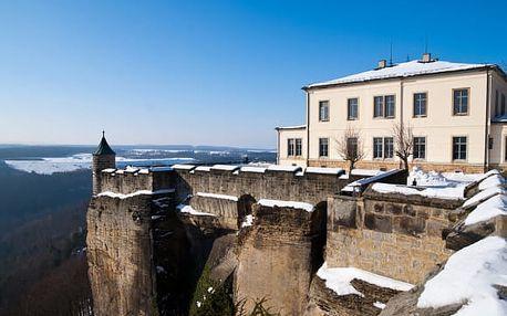1denní výlet na adventní trhy u pevnosti Königstein v Německu
