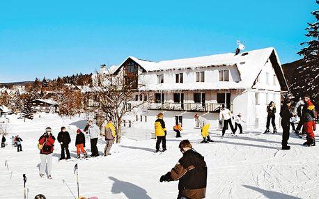 Hotel vhodný pro rodinnou lyžařskou dovolenou