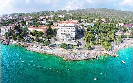Oblíbený hotel s panoramatickým výhledem na moře