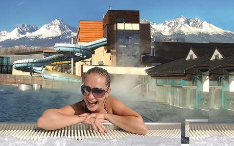 Hotel s aquaparkem a moderním wellness centrem