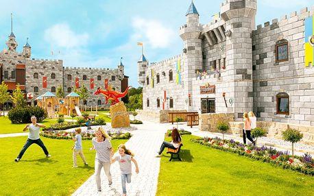 Zažij dobrodružství také po uzavření parku! Vstupenky do Legoland® Deutschland jsou zahrnuty již v ceně