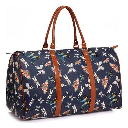 Dámská modrá cestovní taška Alice 479A
