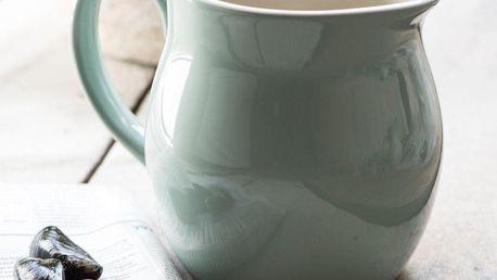 IB LAURSEN Džbán Mynte Green Tea 2,5 l, zelená barva, keramika
