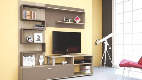 Kompaktní obývací stěna ZIG ZAG