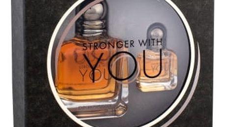 Giorgio Armani Emporio Armani Stronger With You dárková kazeta pro muže toaletní voda 50 ml + toaletní voda 7 ml
