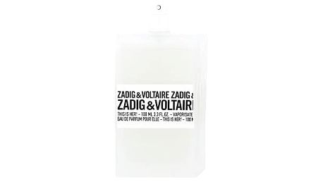 Zadig & Voltaire This is Her! 100 ml EDP Tester W