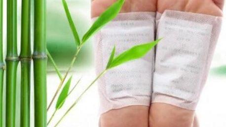 Detoxikační náplasti na chodidla - 10 kusů
