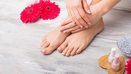 Mokrá pedikúra i s možností masáže chodidel
