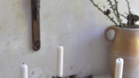 Jeanne d'Arc Living Adventní svícen Table, černá barva, kov