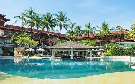 Bali - Kuta Beach na 8 dní, snídaně s dopravou letecky z Prahy 100 m od pláže