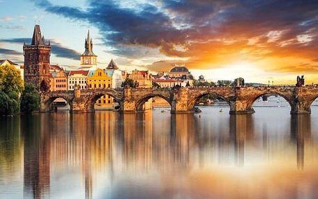 Praha přímo v centru u Karlova náměstí v Hotelu U Svatého Jana *** se snídaní