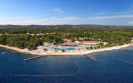 Chorvatsko - Rovinj na 8 až 17 dní, polopenze nebo bez stravy s dopravou vlastní nebo autobusem 100 m od pláže