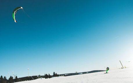 Základní kurz snowkitingu