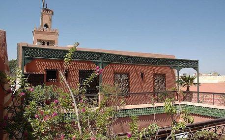 Maroko - Marrakech na 6 až 8 dní, polopenze nebo snídaně s dopravou letecky z Prahy